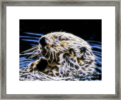 Beaver Collection Framed Print