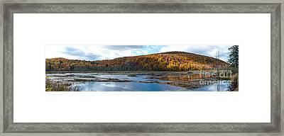 Beaver Pond, Gatineau Park Framed Print