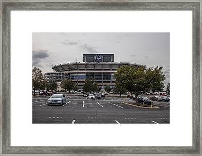 Beaver Stadium Penn State  Framed Print by John McGraw