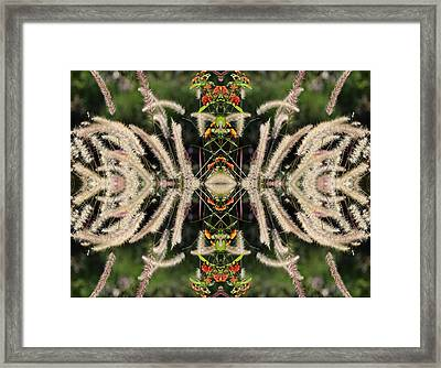 Bee Networks Main Tower Framed Print by Daniel Unfried
