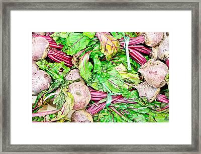 Beetroot Framed Print
