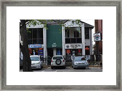 Beezers Framed Print