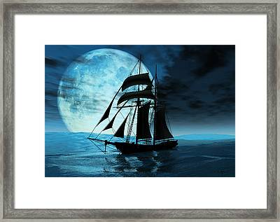 Before The Storm Framed Print by Steven Palmer