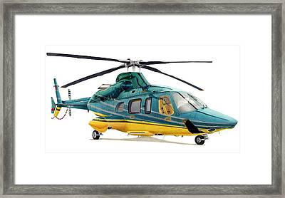 Bell 430 Framed Print by Lyle Brown