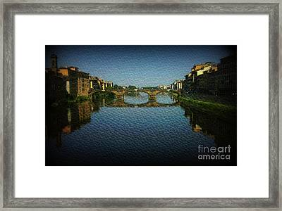 Bella Firenze Framed Print by Eva Maria Nova