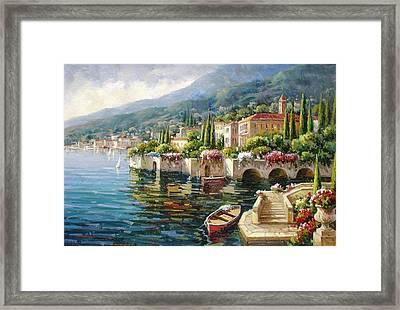 Bellagio, Lago Di Como Framed Print