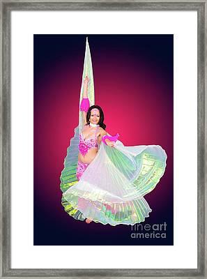 Belly Dancer  Framed Print by Ilan Rosen
