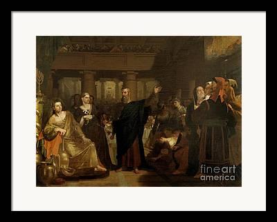 Belshazzar Framed Prints
