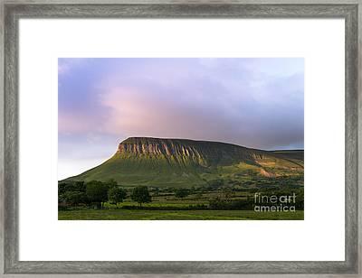 Ben Bulben Framed Print by Andrew  Michael