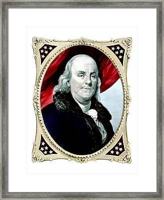 Ben Franklin Framed Print