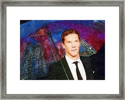 Benedict Cumberbatch Art Print Framed Print by Best Actors