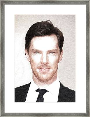 Benedict Cumberbatch Poster Framed Print by Best Actors