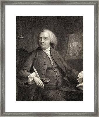Benjamin Franklin, 1706-1790. American Framed Print