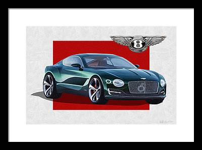 Bentley Motors Framed Prints