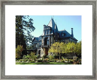 Beringer Brothers Winery Saint Helena Framed Print