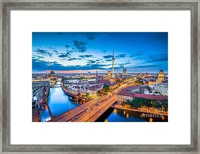 Berlin Framed Print by JR Photography