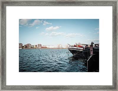 Berlin - Rummelsburger Bucht Framed Print