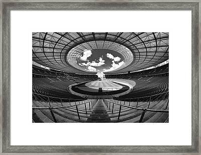 Berlin's Olympic Stadium Framed Print by 3093594