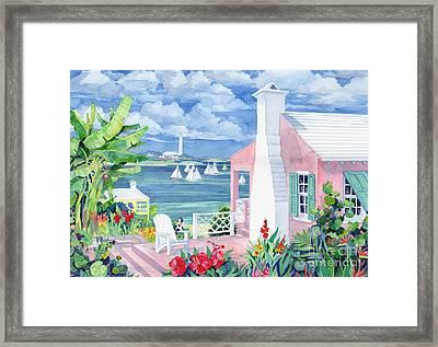 Bermuda Cove Framed Print by Paul Brent