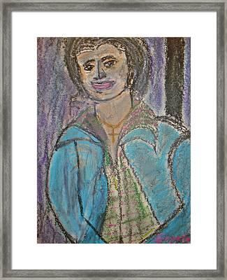 Bertie   Framed Print