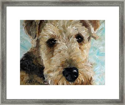 Best Friend Framed Print by Mary Sparrow