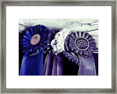 Best In Show Blue Framed Print by JAMART Photography