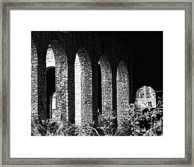 Framed Print featuring the photograph Bethlehem Steel by Michael Dorn