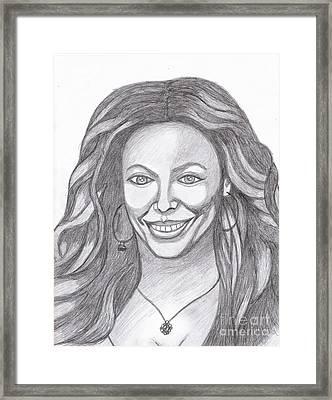 Beyonce Framed Print by Richard Heyman