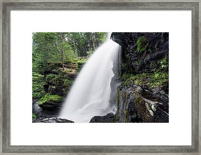 Fulmer Falls Framed Print