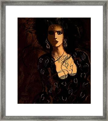 Bianca Framed Print by Natalie Holland