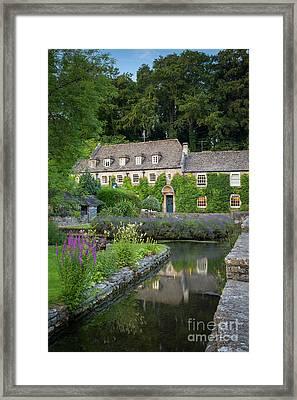 Bibury Hotel  Framed Print by Brian Jannsen