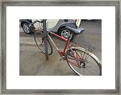 Bicicletta Framed Print by JAMART Photography