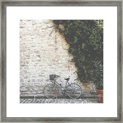 Bicycle Framed Print by Ivy Ho