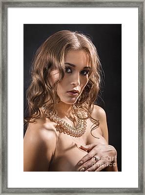 Big Breasts Framed Print by Aleksey Tugolukov