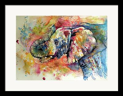 Elephant Framed Prints