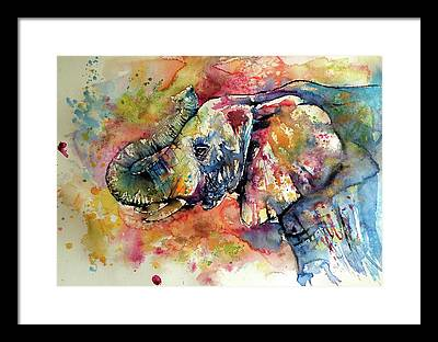 Wild Life Paintings Framed Prints