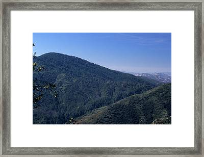 Big Pine Mountain Framed Print by Soli Deo Gloria Wilderness And Wildlife Photography