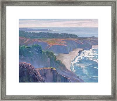 Big Sur Coast Framed Print by Sharon Weaver
