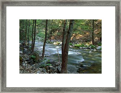 Big Sur River - Ventana Wilderness Framed Print by Soli Deo Gloria Wilderness And Wildlife Photography