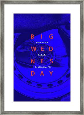 Big Wednesday 2016 Framed Print