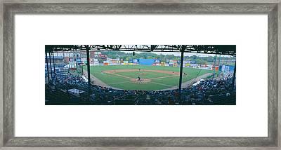 Bill Meyer Stadium, Aa Southern League Framed Print