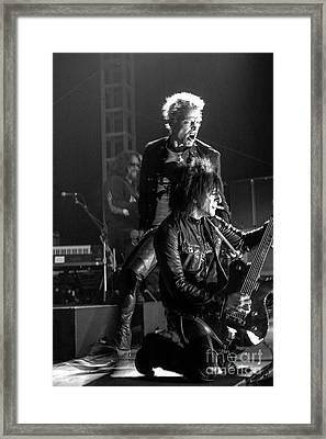Billy Idol Framed Print