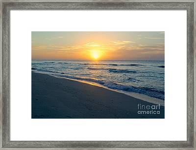 Bimini Beach Framed Print