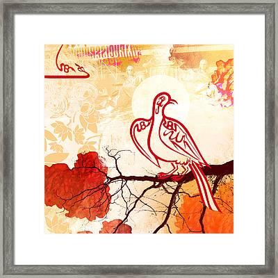 Bird Of Glory 1 Framed Print by Misha Maynerick