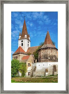 Biserica Sfantul Servatius Framed Print by Fabrizio Troiani