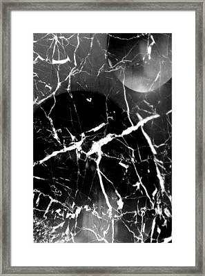 Black And White Zen Framed Print by William Lowrey