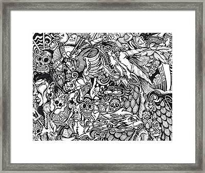 Black Jack Framed Print by Jacob Brooks