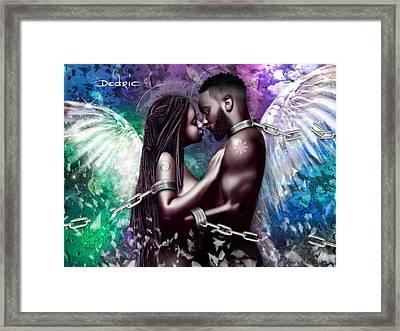 Black Love Framed Print by Dedric Artlove W