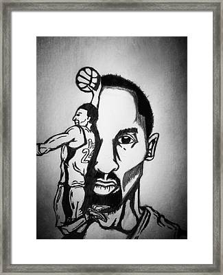 Black Mamba Framed Print by Ryan Williams