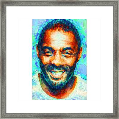 #blackhistory #blackhistorymonth Framed Print by David Haskett